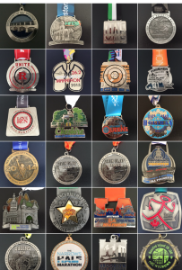 Saran's many medals
